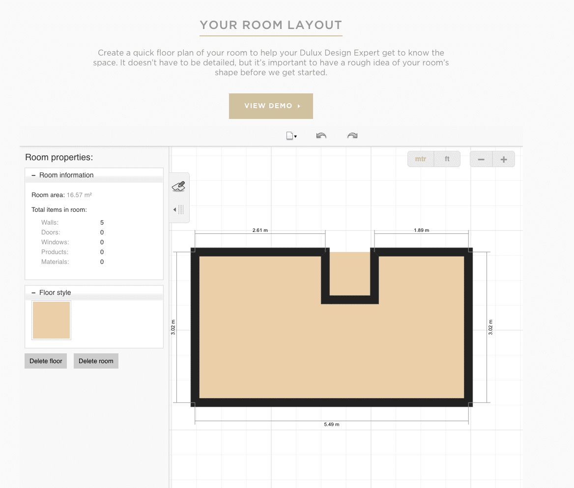 Draw your room