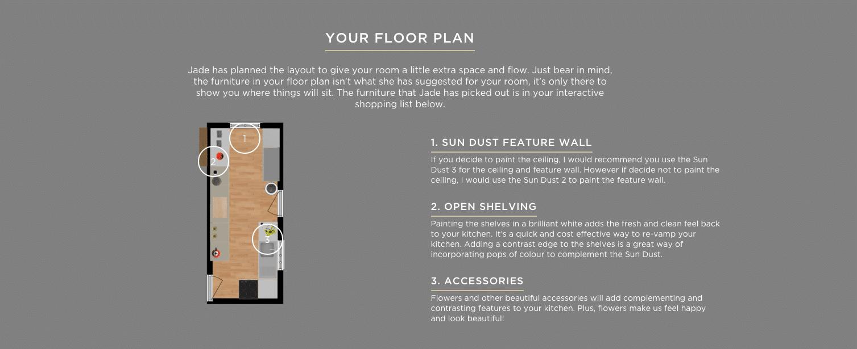 Kitchen - Floor plan