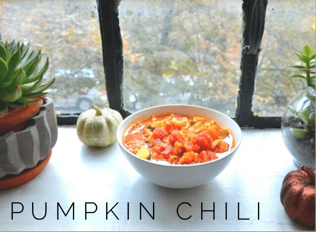 pumpkin chilli
