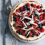 Annabel Karmel's Berry and White Choc Tart