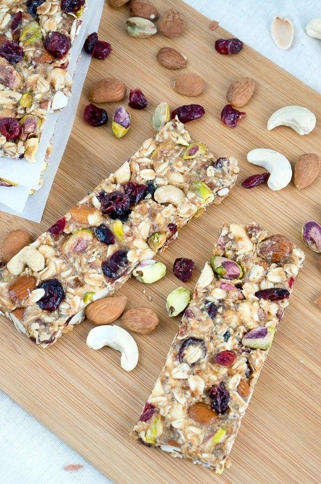 healthy homemade granola bars by delicious meets healthy