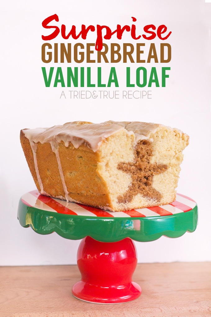 surprise gingerbread vanilla loaf by tried and true