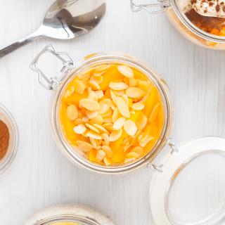 Overnight wheat and fruit pots, three ways – an easy breakfast hack