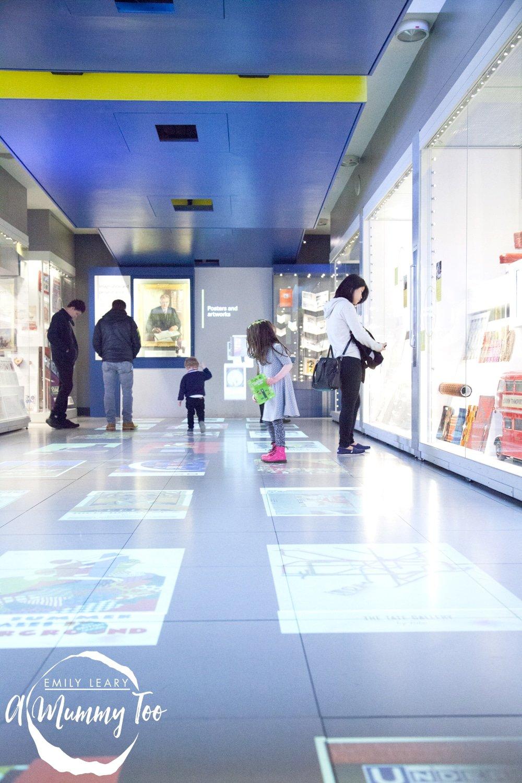 London-Transport-Museum-light-show