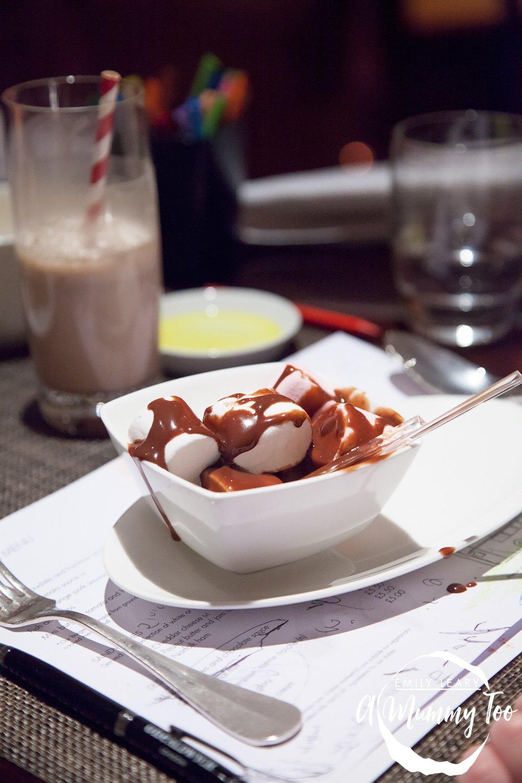 One-Aldwych-Indigo-Restaurant-marshmallow-dessert