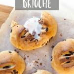 Creme egg stuffed brioche