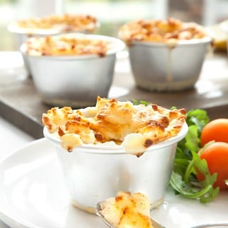 Cooking with kids: Mini cheesy fish pies