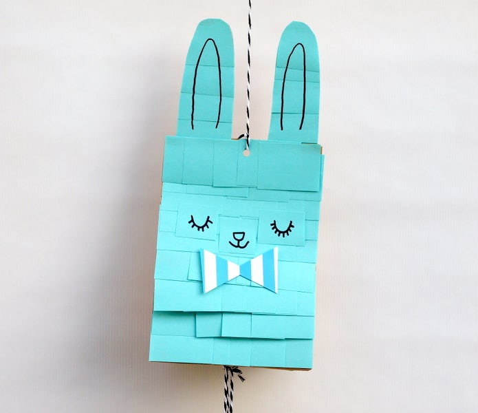 paper bag pinata by mollymoo
