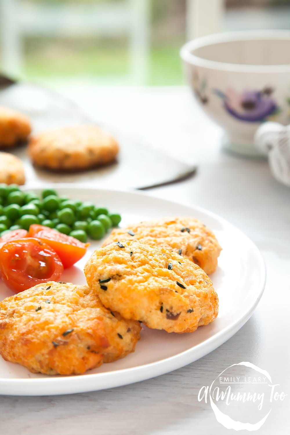 Easy, homemade salmon fishcakes and no need to crumb them first! Great recipe to make with kids. And they're baked not fried!