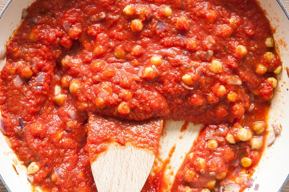 Your passata is now ready to add to the pasta