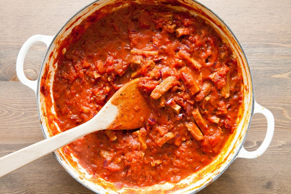 Your pasta bake sauce is ready
