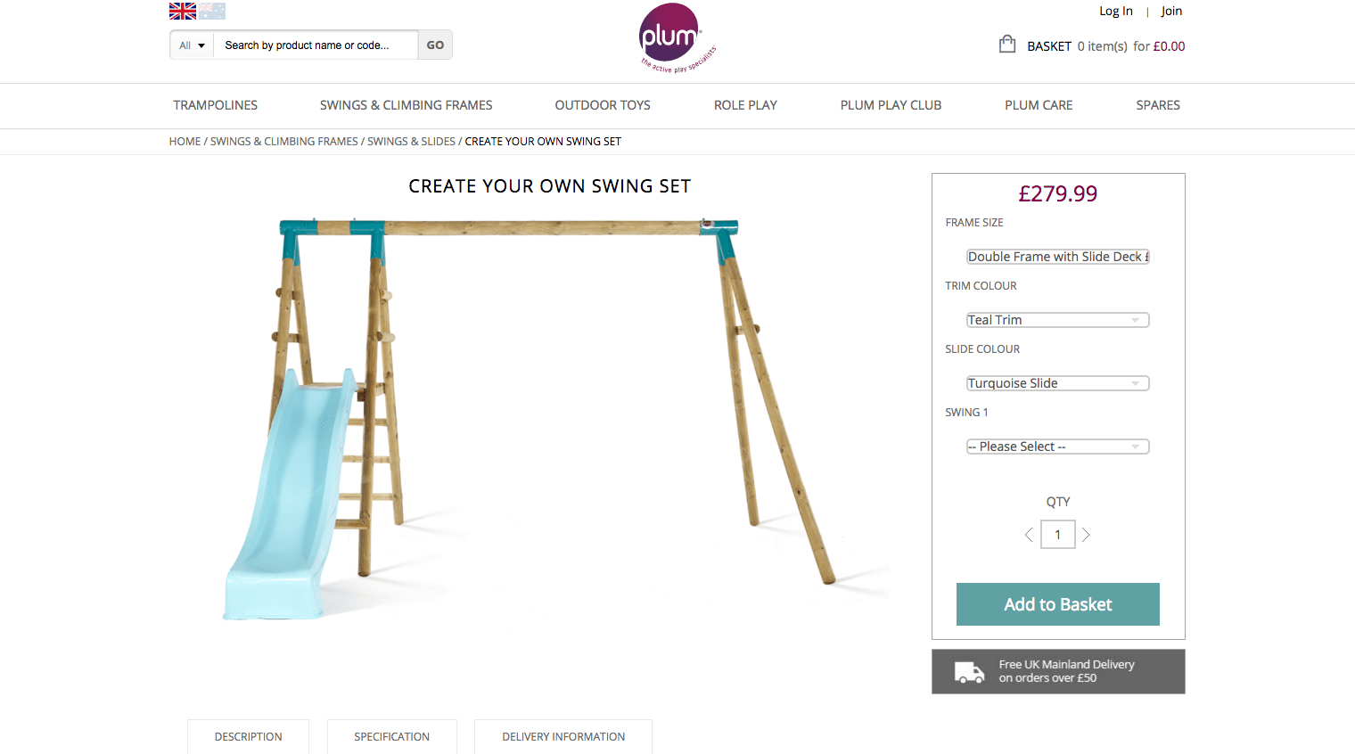 Turn your garden in an adventure playground with a plum for Design your own playground online