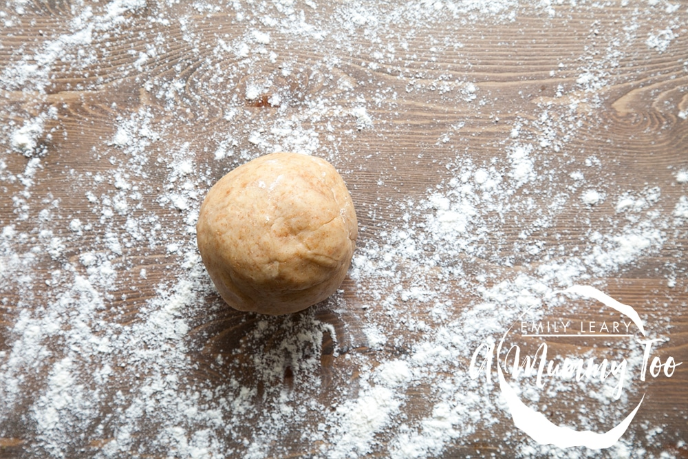 Turn out your dough ball