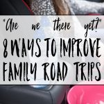 """Are we there yet?"" 8 tips for travelling with kids"