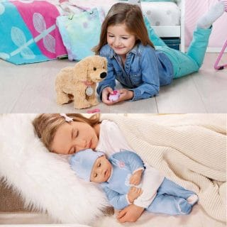 Win Baby Annabell® Brother *and* BABY born® Train Andy