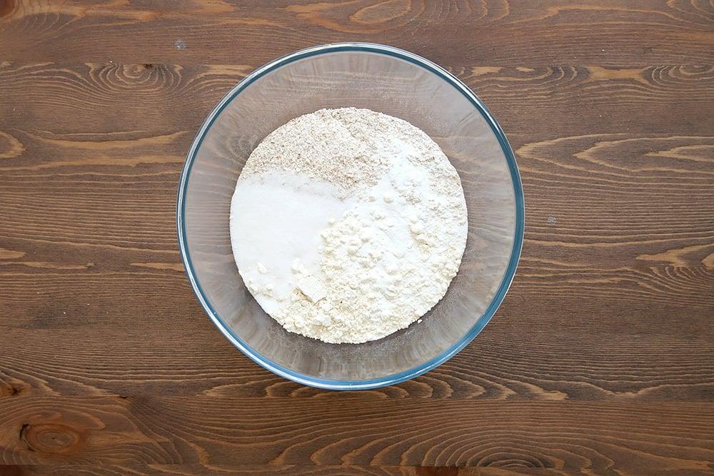 Granola waffles step 3