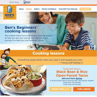 Ben's Beginners: a fantastic tool for teaching kids to cook