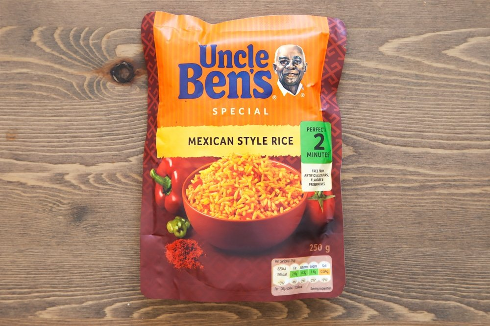 Uncle Ben's special mexican style rice