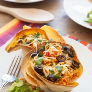 Black Bean & Rice Open-Faced Tacos (Ben's Beginners)