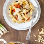 Courgette and black olive pasta gratin + hassle-free family cooking with BoschAssist