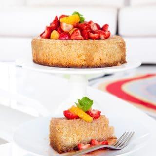 Orange, almond and quinoa cake (gluten-free, dairy-free)