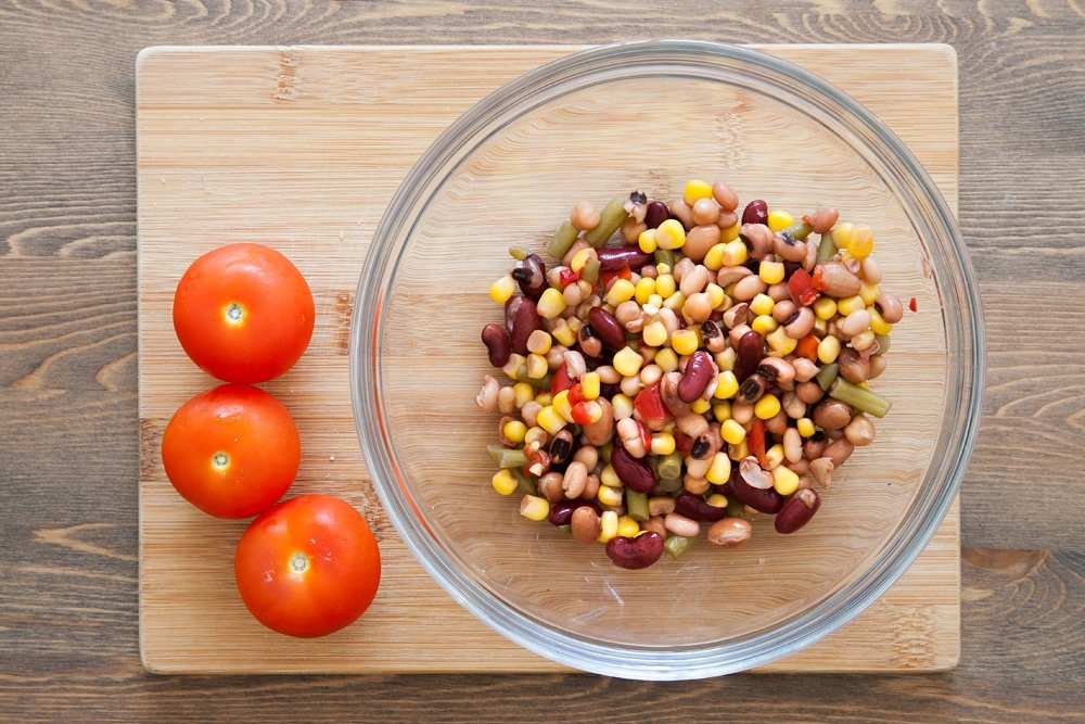 quinoa-and-bean-protein-wrap-step-1