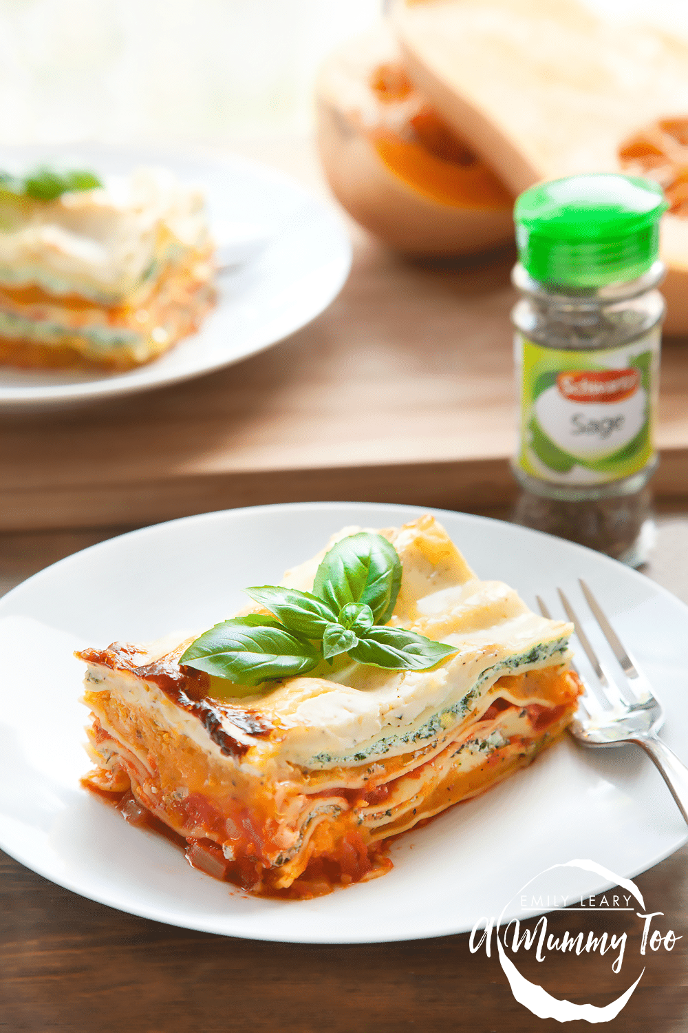 Butternut squash, spinach and ricotta lasagne - a hearty take on butternut squash soup