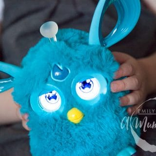 Getting to know the new Furby Connect (review + giveaway)
