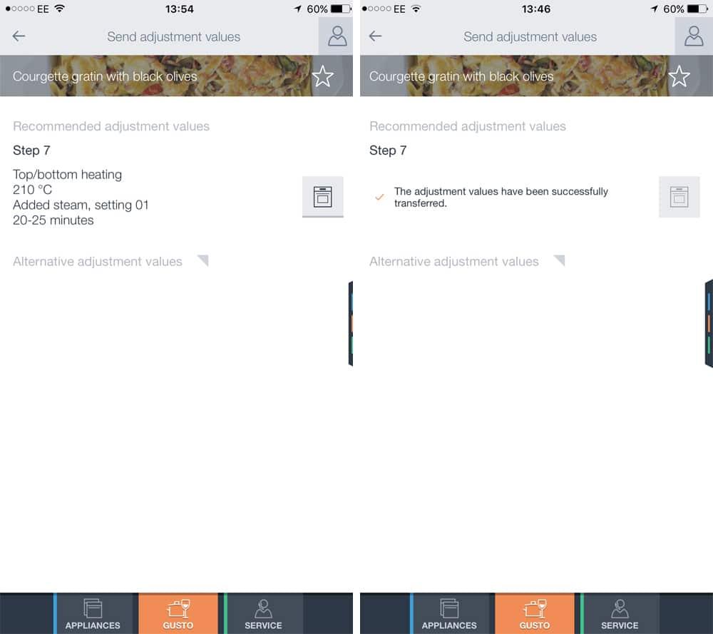 Bosch HomeConnect app