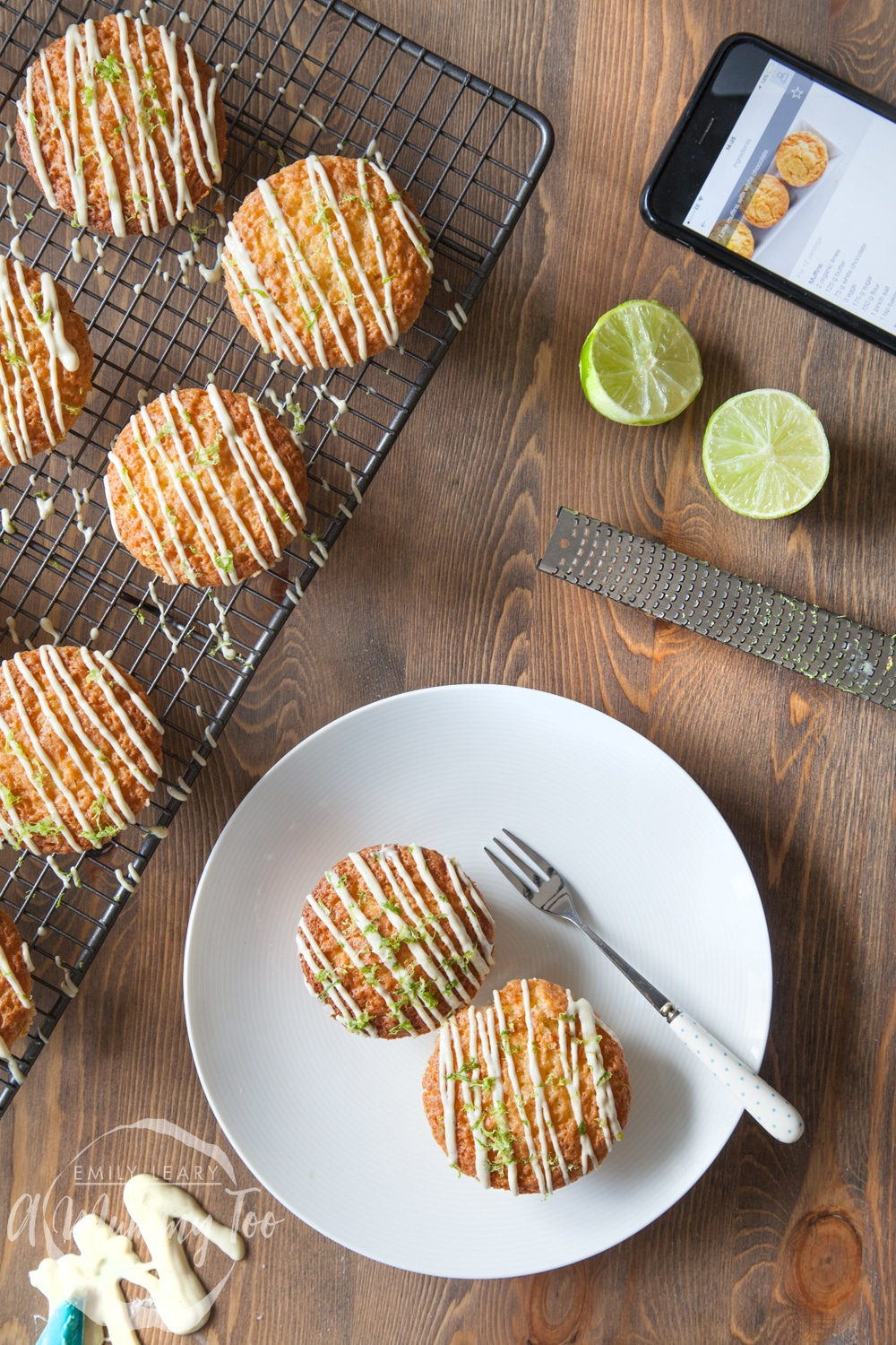 lime-and-white-chocolate-muffins-from-above