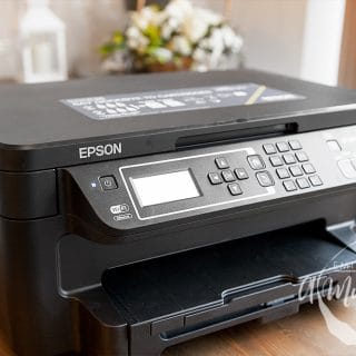 Testing the Epson EcoTank ET-3600 (review + giveaway)