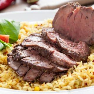 Piri piri beef mini roast – a perfect mid-week meal