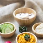 Roasted carrot houmous by Mel from Le Coin de Mel
