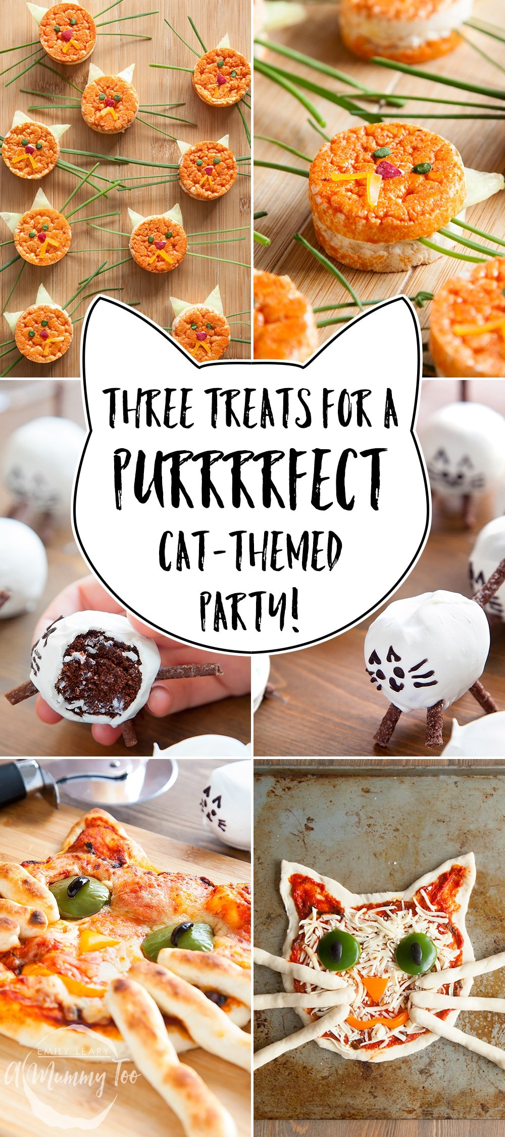 Cat Themed Birthday Party Food