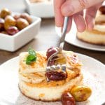 Lazy meze morning! Gluten-free meze-inspired crumpets