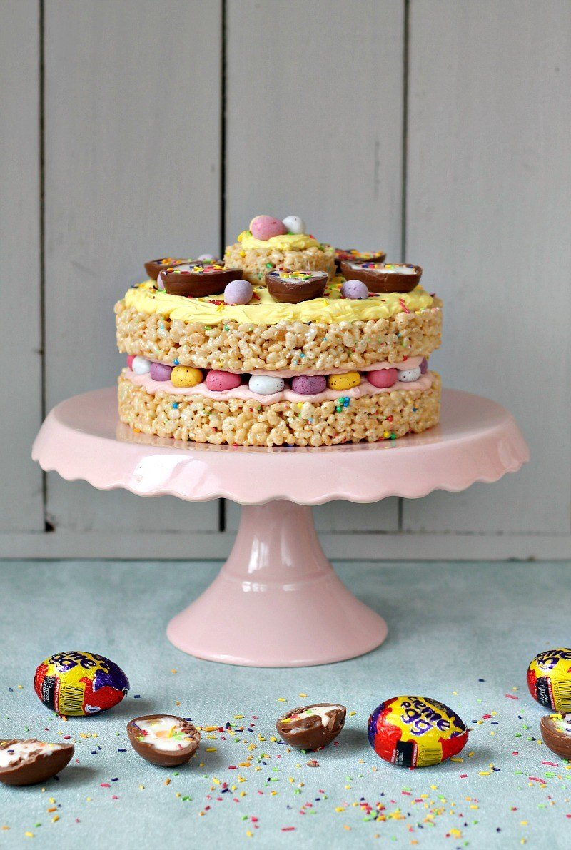 Ultimate Easter Egg Cake by Lets Talk Mommy