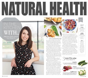 Natural Health Magazine: In the kitchen with Emily Leary