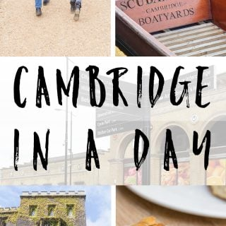Cambridge in a day – pottering, playing and punting