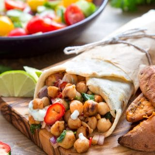 BBW Chickpea Summer Wraps