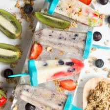 DIY fruit and yogurt lollies recipe