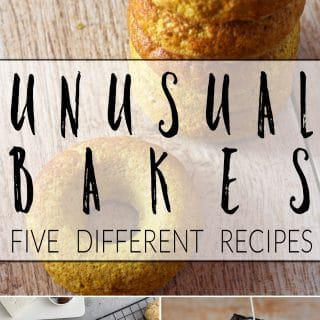 Unusual bakes + #recipeoftheweek 31-6 Aug