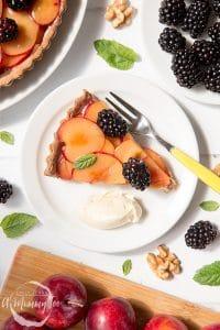 Plum and Blackberry Tart Recipe