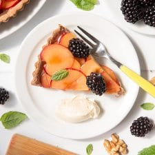 Plum and Blackberry Tart Recipe