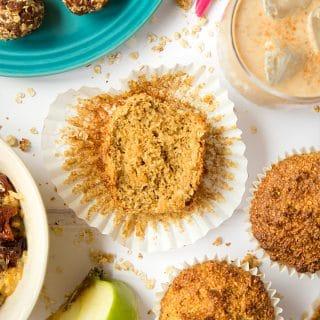Breakfast bran granola muffins