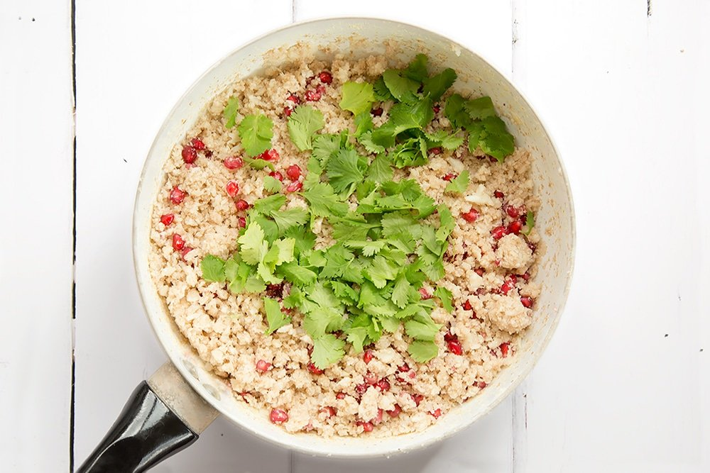 Stir the coriander into the couscous to finish