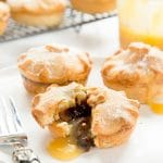 Salted caramel mince pies