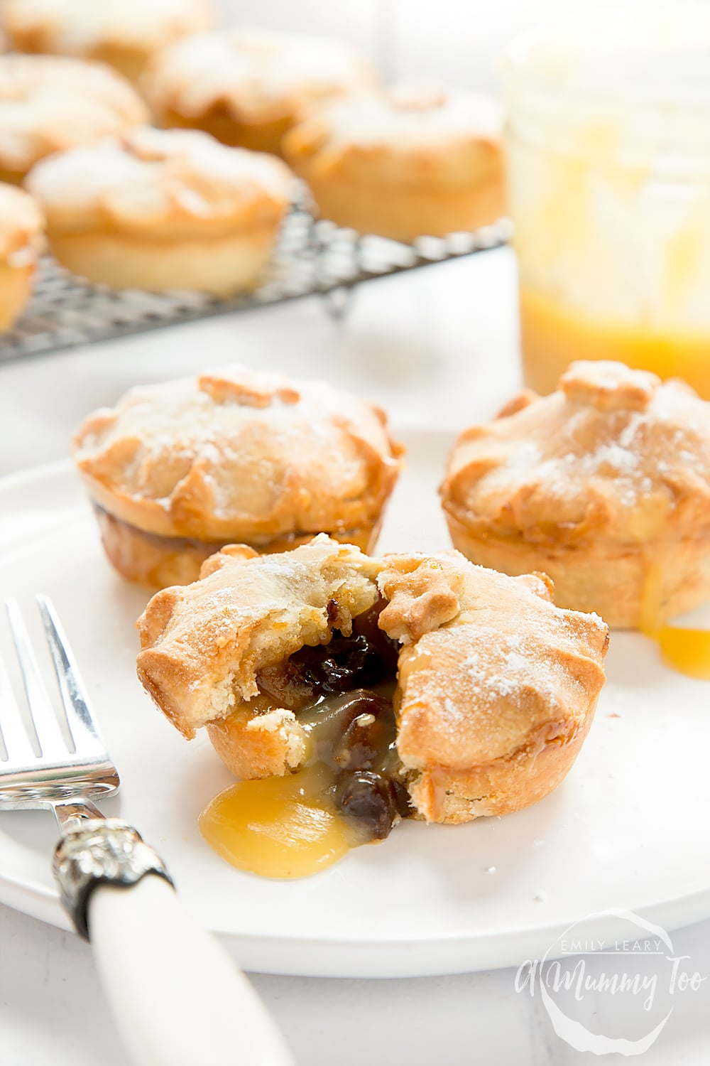 These salted caramel mince pies are a deliciously sweet and salted take on the traditional mince pie