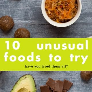 10 unusual foods to try in 2018