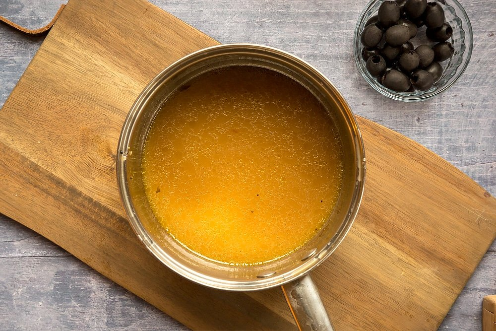 Use the juices from your roasted chicken to make a gravy