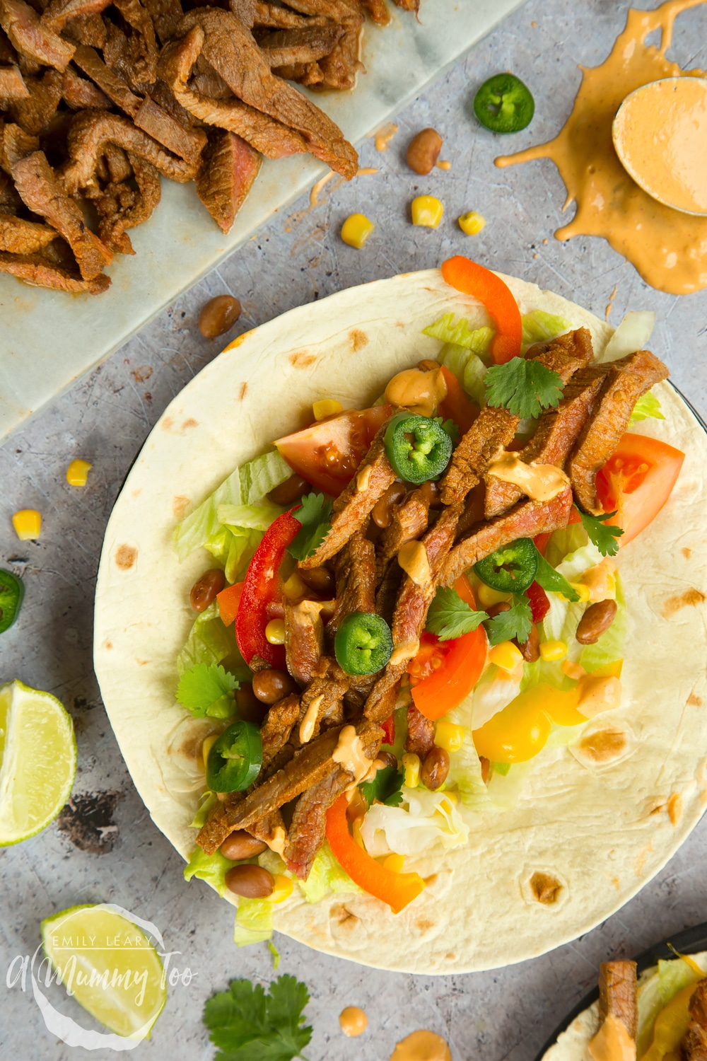 Spicy chipotle beef carne asada fajitas - this recipe will help you create amazing, tasty fajitas for the whole family!
